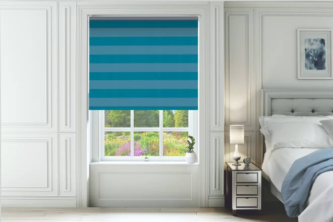 a photo of blackout roller child Blinds in UK at comfort blinds