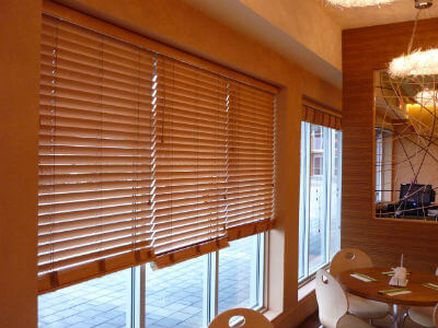 wooden blinds in uk image