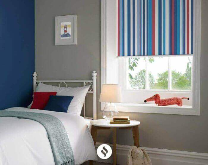 Child Safety Roman Blinds In Uk Large Image ...
