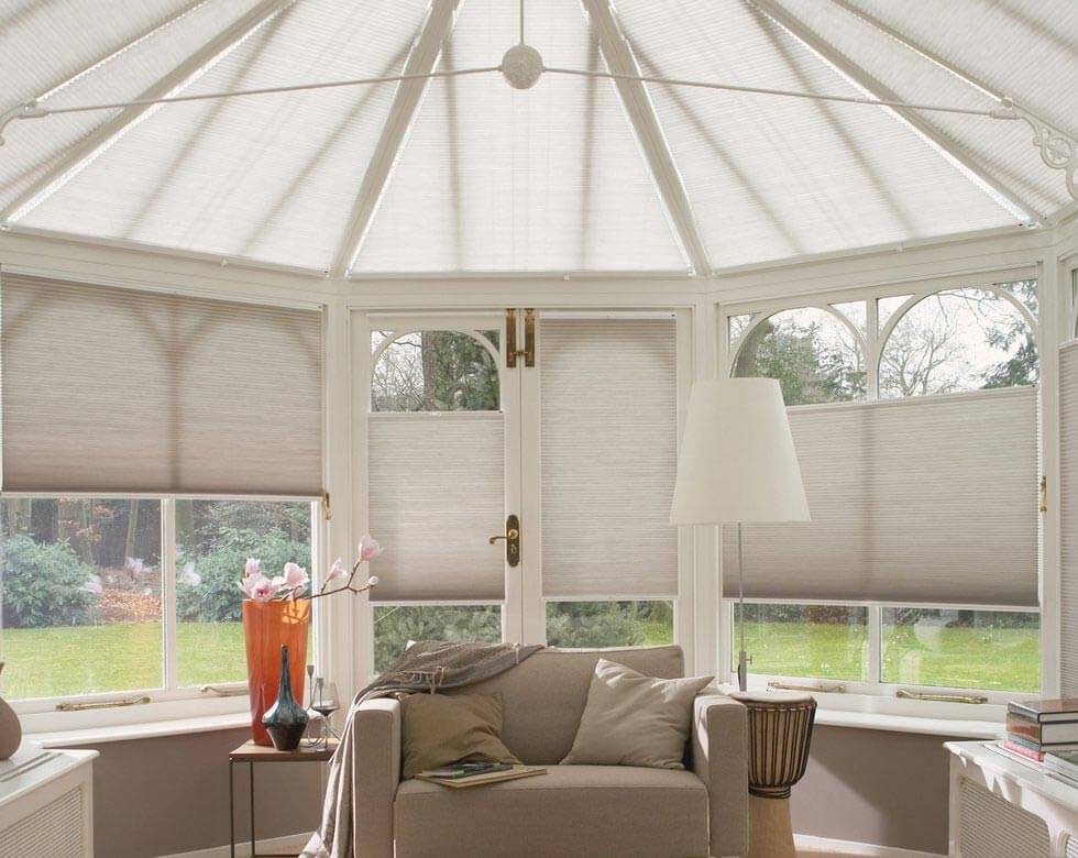 Vertical Conservatory Blinds in uk large image