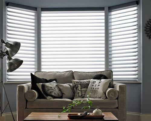 comfort blinds uk bay window blinds image