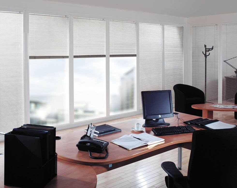 office roman blinds in uk large image