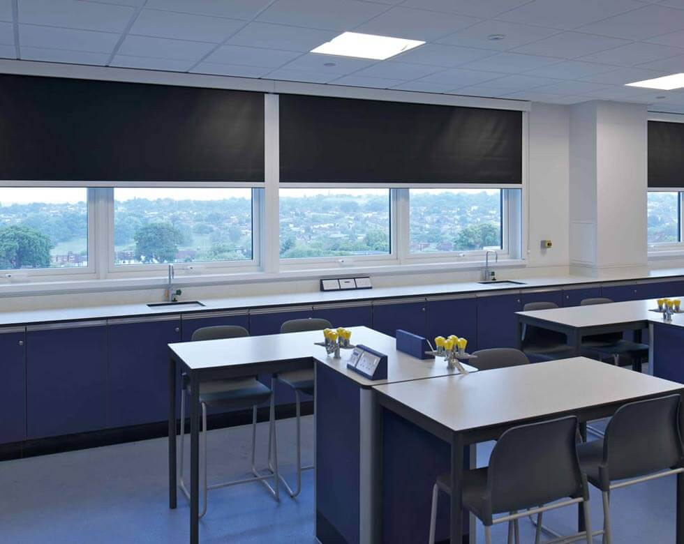 school roman blinds in uk large image