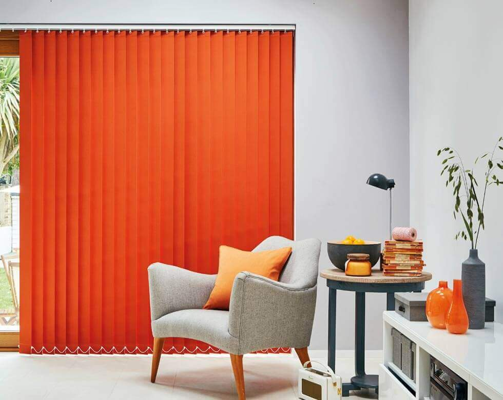 a made to measure Vertical blinds in uk large image