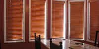 White wooden Blinds in Uk small image