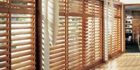 bedroom wooden blinds in uk small image