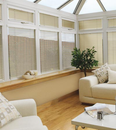 Conservatory blinds offer