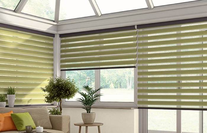 beautiful conservatory blinds from comfort blinds collection