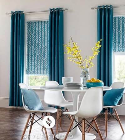 Roman blinds offer