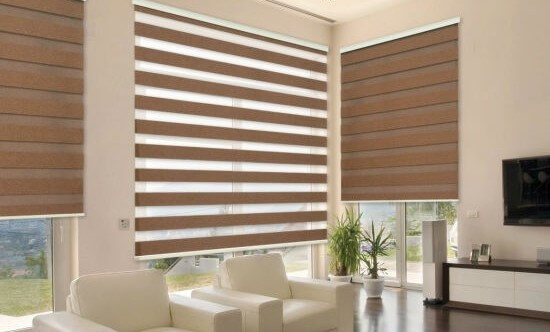 Faux Wood blinds in uk image